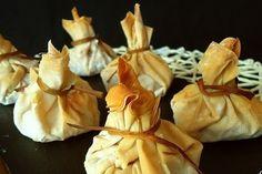 Foto de la receta de saquitos de sepia y gambas