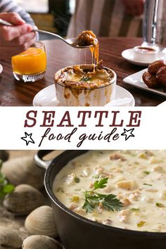 The ultimate Seattle food guide Vancouver Seattle, Seattle Food, Seattle Washington, Washington State, Seattle Travel Guide, Seattle Vacation, Vacation Ideas, Vacation Spots, Washington Things To Do