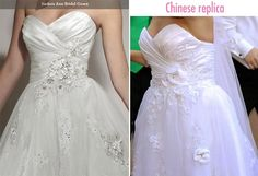 """Educate yourself on the modern perils of wedding dress shopping! Read """"Cheap Wedding Dresses: Here's What You Should Know"""" to find quality budget styles."""