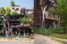 Luciano Pia's Incredible Urban Treehouse Protects Against Air And Noise Pollution In Turin (Italy)
