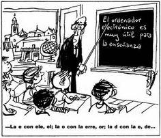 """""""El ordenador electrónico es muy útil para la enseñanza"""""""