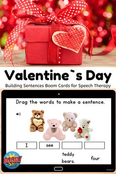 Fantastic boom cards! I have used this during whole group and students loved the visuals! #Valentinesday #boomcards