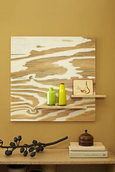 Going With The Grain: Plywood Artwork