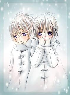 Vampire Knight - Twins, Zero and Ichiru