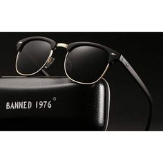 3d295e9aecbd Women's Sunglasses Uv400 Hd Polarized Men Classic Retro Brand Sun Glasses  #fashion #clothing #