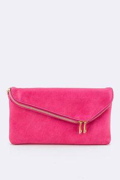 Envelope Clutch - Fuchsia #ShopMCE