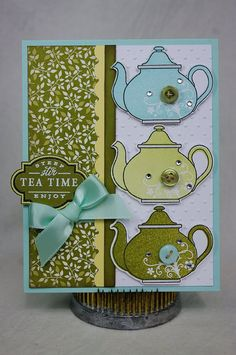 4/13/2010; Nerina 'A Creative Inkling' blog; Tea for Two stamp set