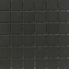 CC Porcelain Black Mosaics 12x12