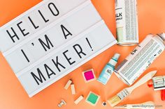 #Ligthbox #idoproyect #quotes #messages #deco #gift #maker #hello