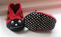 Swannyjo: Phia ladybug slippers