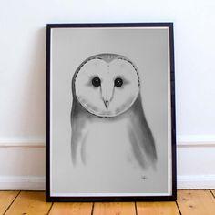 Pöllö printti / Owl Print