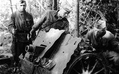 Captured German 75mm INF GUN