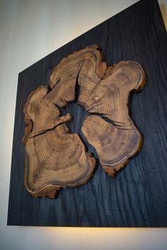 wooden art sconce - Informations About driftwood wall ART handmade. Wooden Wall Decor, Wooden Lamp, Wooden Walls, Wall Wood, Wooden Frames, Wood Slab, Wooden Arch, Reclaimed Wood Wall Art, Wood Painting Art