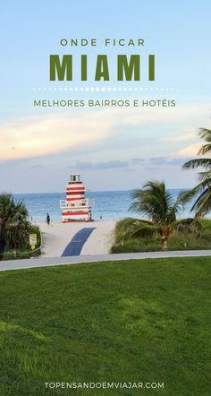Miami é uma cidade super plural e atrai viajantes de todos os tipos em busca de boas oportunidades de compras, badalação e praias de areia branca. Independente do seu estilo, a escolha de um bom hotel, bem localizado e avaliado, pode fazer muita diferença na sua viagem. E estamos aqui pra te ajudar! Neste guia você vai encontrar todas as dicas de onde ficar em Miami. Confira quais são as melhores regiões e hotéis para se hospedar na cidade. Aproveite!