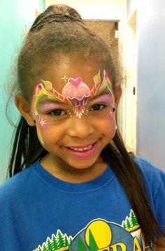 cupcake princess w/candles; by Heather Green of SillyFarm; birthday princess