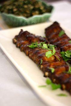 As Minhas Receitas: Entrecosto no Forno com Molho Barbecue