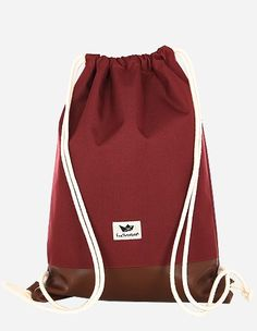 Freibeutler - Gym Bag maroon