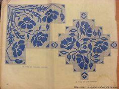 Gallery.ru / Фото #32 - dantel 9 - asuemir Filet Crochet Charts, Crochet Borders, Crochet Lace, Doily Patterns, Vintage Patterns, Crochet Patterns, Crochet Curtains, Crochet Tablecloth, Knitting Stitches