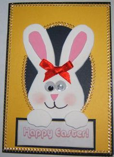 easter card making idea