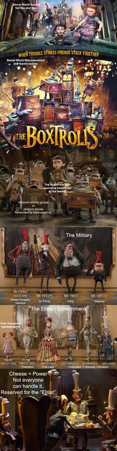The Boxtrolls Metaphor