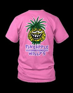 pineapple willy's t shirt - Google Search