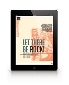 FOLD Ipad Magazine by Celia Arellano, via Behance