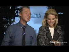 Simon Pegg & Alice Eve Reveal the Offscreen Benedict Cumberbatch - Star Trek Into Darkness Telegraph - YouTube...the whole interview is pretty funny