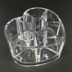 1 box with clear heart shaped organizer inside. Wonderful Eyebrow pencil Makeup tool display stand Holder. Color: clear. Material:Plastic. | eBay!