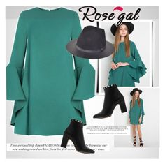 """ROSEGAL.com"" by vict0ria ❤ liked on Polyvore"