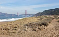 In San Francisco's Presidio: Batteries to Bluffs Trail to Marshall's Beach