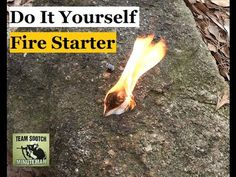 Fire tinder can be tough to come by, but don't sweat it. Suburban Steader has a few everyday items you can use to get that fire lit!