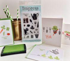 Summer gardening with Impress' new clear garden set.