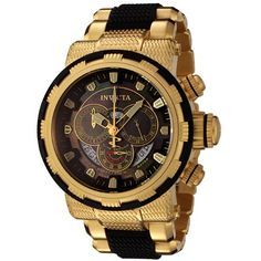 Invicta Men's 6662 Reserve Collection Chronograph 18k Gold-Plated and Black Watch Invicta http://www.amazon.com/dp/B003UNX29K/ref=cm_sw_r_pi_dp_6vhuub0VRMWQB