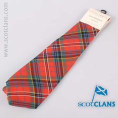 MacPherson Ancient Tartan Tie. Free worldwide shipping available