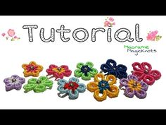 Macrame tutorial: Butterfly bracelet - Simple and easy macrame animal pattern - YouTube