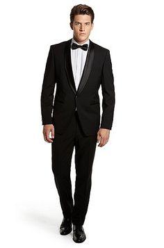 Hugo Boss Sky/Gala slim fit shawl lapel tuxedo