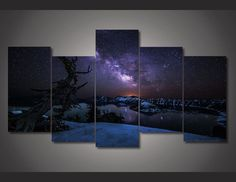 """**50% OFF FLASH SALE TODAY ONLY** - Only available for a LIMITED TIME, so get yours TODAY! - Medium - (1)12x20in (8x22cm) - (4)8x16in (20x40cm) - Highly Recommend Picking The """"Ready To Hang"""" Option"""