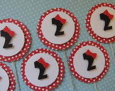 Cod 08547 - Toppers Para Doce E Cupcake