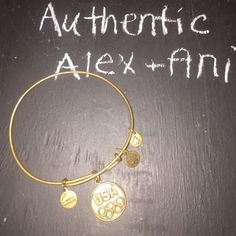 RARE Alex and Ani usa olympics Alex and Ani. A bit of damage caused by normal wear. Alex & Ani Jewelry Bracelets