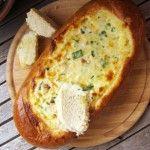 Pan relleno de queso fundido para cualquier ocasión