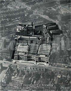 Davenports brewery 1935