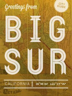 Big Sur Monterey Bay city guide-eat, see, do Big Sur California, Central California, California Dreamin', Central Coast, Monterey Bay, Sponge City, Road Trip, San Francisco, Carmel By The Sea