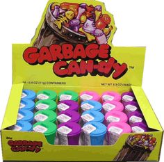 Garbage candy #retro #80s #1980s