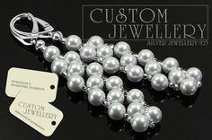 Kolczyki ślubne od #customjewellery.pl zapraszamy na #zakupy.