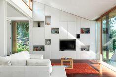 tolle tv wände fürs wohnzimmer