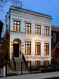 Chicago townhouse...