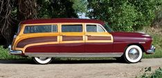 1948 Hudson Commodore woodie .