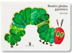 Bardzo głodna gąsienica A4 - Eric Carle | Książka | merlin.pl