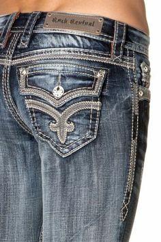 350 Best Womens Rocks images | Rock revival jeans, Stretch