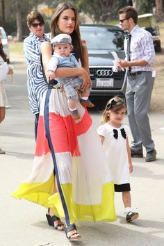Alessandra Ambrosio arrives at The Third Annual Veuve Clicquot Polo Classic. 10-6-2012